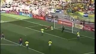 Costa Rica - Brazil 2-5 [FIFA World Cup 2002 Highlights]