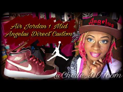 How To: Customize Air Jordan 1 Mids | Full Tutorial | Angelus Direct Custom