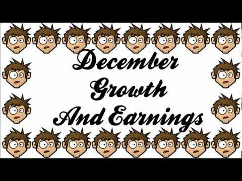 December Youtube Growth and Earnings Report