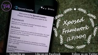 How to install xposed framework in lollipop youtube videos