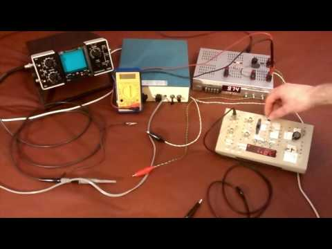 DMM/USB Oscilloscope with a ATmega328P, spares and Loads of Resistors