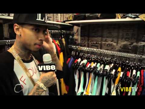 Tyga Gives a Tour of Last Kings Clothing Line