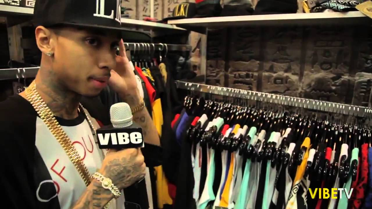 Mixed Pretty Girls With Swag And Snapbacks Tyga Gives a Tour of Last