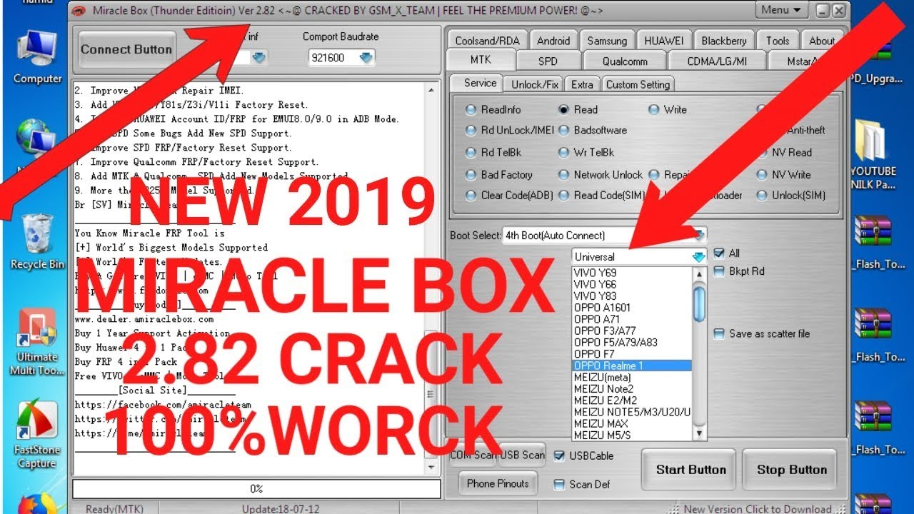 Miracle Thunder 2 82 Crack latest setup 2019      100% worck by AR Mobile  repairing