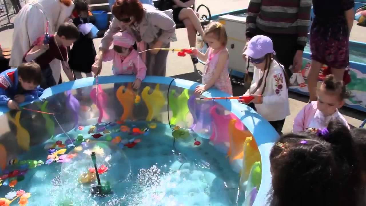 рыбацкое дети развлечение
