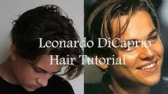 Leonardo DiCaprio Inspired Mens Hairstyle Tutorial 2015