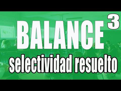 Ejercicio resuelto BALANCE DE SITUACIÓN 4 (CON VÍDEO EXPLICATIVO)