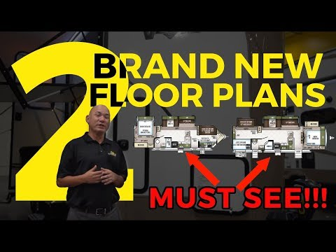 Brand New RV Trailer Floor Plans To Kick Off 2019 Line Up // Must See - Family RV
