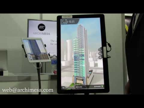 Archimesa product demo: virtual showroom in your pocket