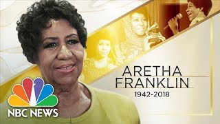 Скачать Queen Of Soul Aretha Franklin Passes Away At Age 76 NBC News