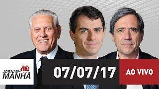 Resultado de imagem para Jornal da Manhã 07/07