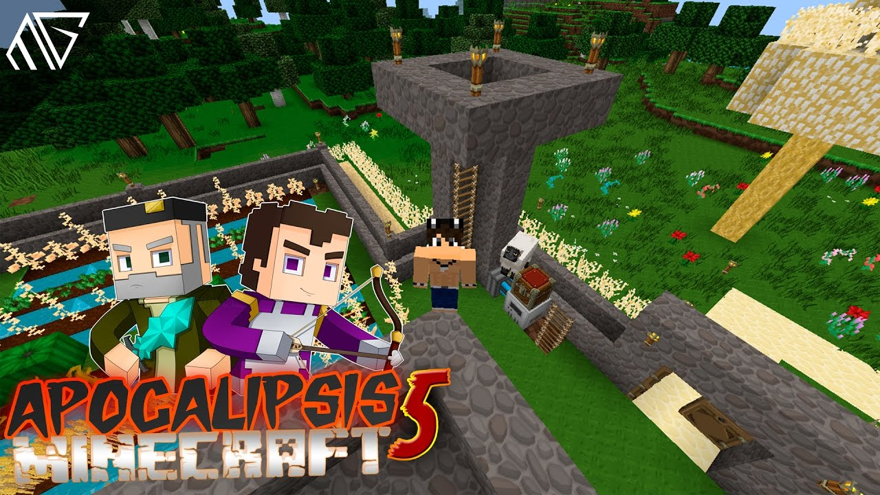 Descarga Apocalipsis Minecraft 5 Mapa Completo Casa Vegetta777 Willyrex Apocalipsisminecraft5 Youtube