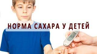 Показатели нормы сахара в крови у детей