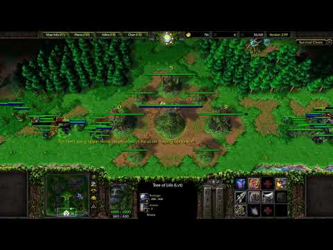 Warcraft 3: Survival Chaos #12 - WTF Tiny + Invis Units!