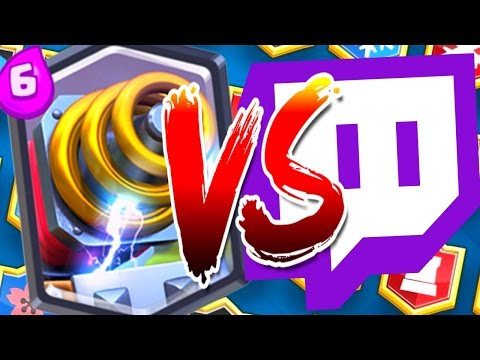 Clash Royale - SPARKY VS Twitch Viewers
