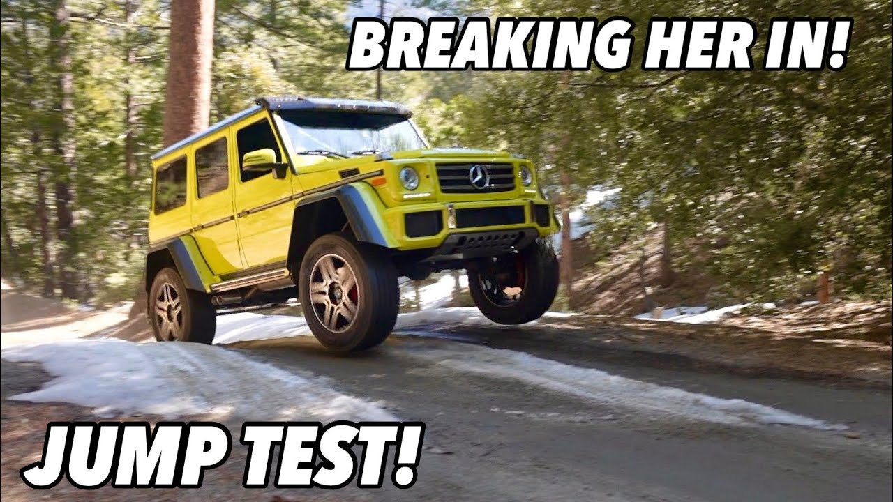 TESTING THE MERCEDES G550 4x4 SQUARED!