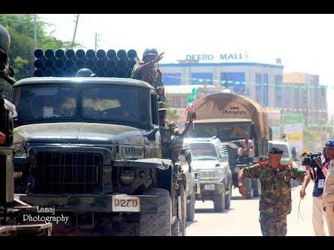 Somaliland 20.000 Ciidanka Qaranka military kala sobaxaysa Djibouti 2017 lodiray Eritrea farxday