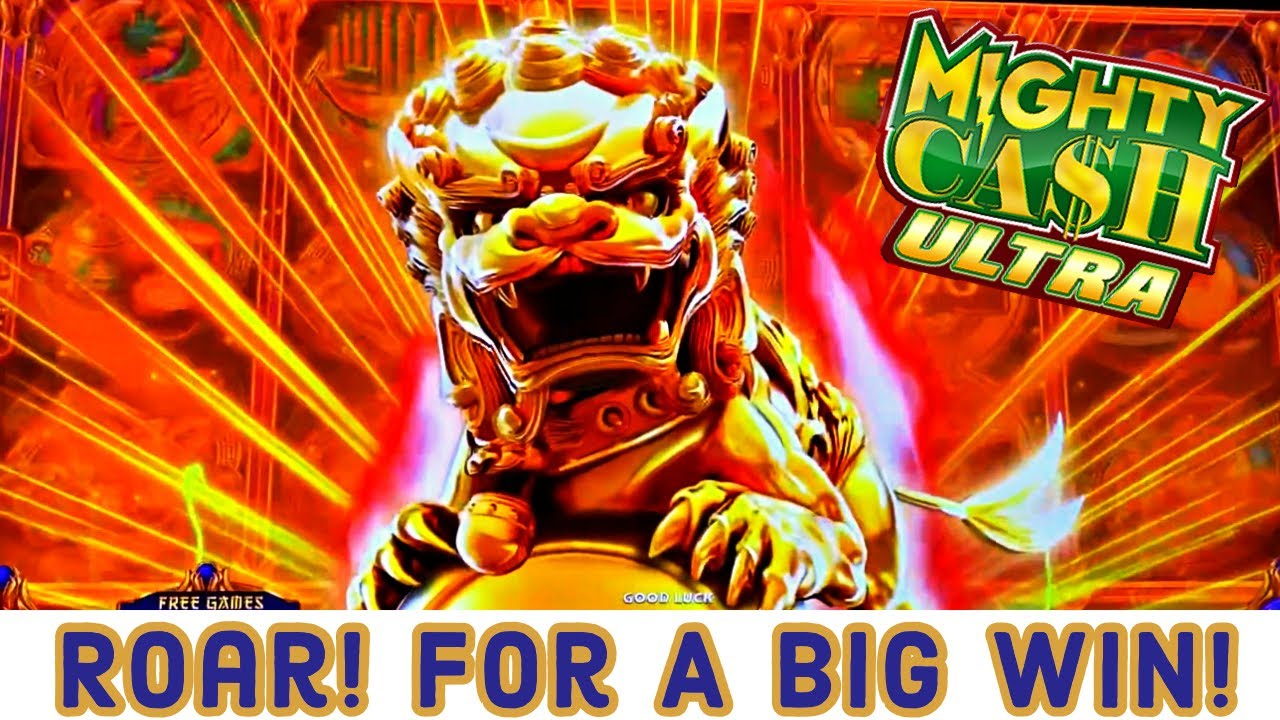 ROAR!! The TIGER Brought us A BIG WIN On Mighty Cash Ultra!