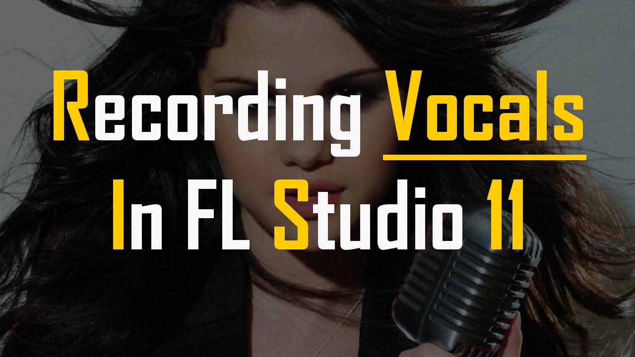 how to put vocals in fl studio