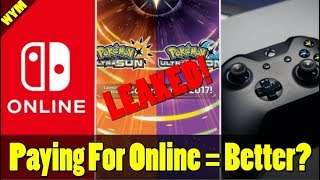 Nintendo Says Paid Online IS Better, Pokemon Ultra Sun and Moon Leaked Rom, Xbox One X Review