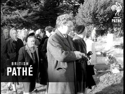 Funeral Of Dylan Thomas 1953