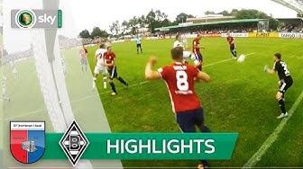 SV Drochtersen/Assel - Borussia Mönchengladbach 0:1   Highlights DFB-Pokal 2016/17 - 1. Runde