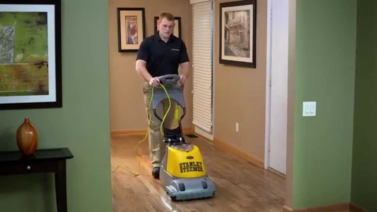 Hardwood Cleaning Stanley Steemer Youtube
