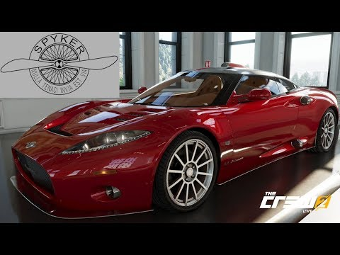 The Crew 2 - Spyker C8 Aileron - Customization, Top Speed, Review