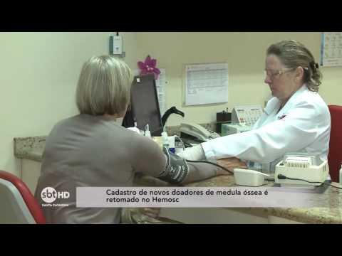Cadastro de novos doadores de Medula Óssea é retomado no Hemosc