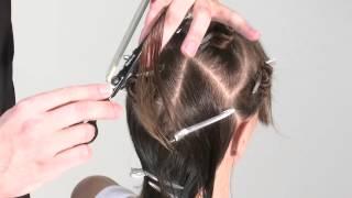 Стрижка с внутренними слоями - видео-урок по креативной салонной стрижке