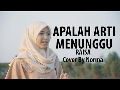 VIDEO CLIP APALAH ARTI MENUNGGU - RAISA Cover By Norma