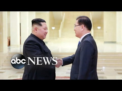 Kim Jong Un joins meeting with South Korean leaders