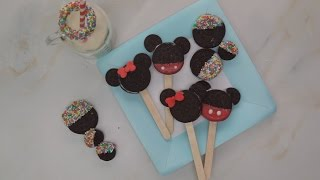 Gambar cover Easy Mickey and Minnie Mouse Oreo Pops