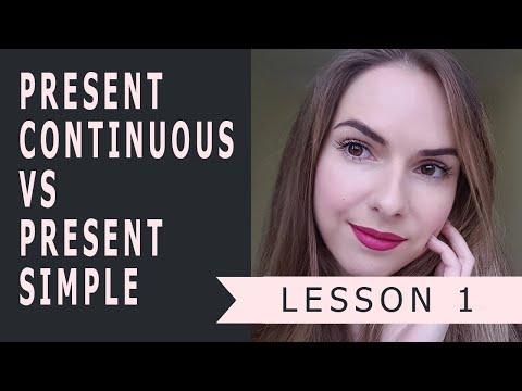 Урок 1 - Lesson 1. Введение. Present Continuous Vs. Present Simple