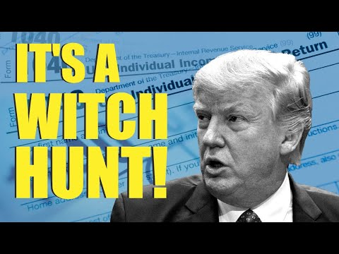WITCH HUNT For Trump Taxes is OVER