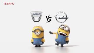Dacia Vs Opel Minions Style ( Funny )