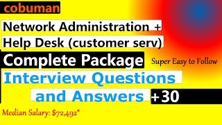 Network Administration and Help Desk Interview Questions and Answers All in One