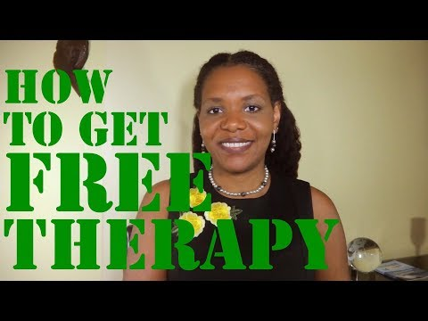 Five (5) Resources To Get Free Therapy