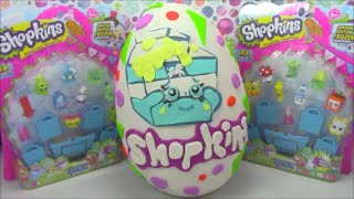 Huge Shopkins Giant Surprise Egg Spilt Milk Play Doh Limited Edition Shopkins Hunt