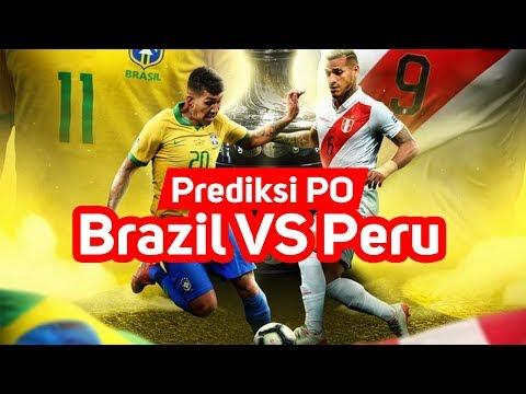 PREDIKSI BRASIL Vs PERU (PO 🐹) FINAL COPA AMERICA 2019