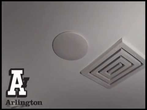 Spring Mount Ceiling Plate Cover Youtube