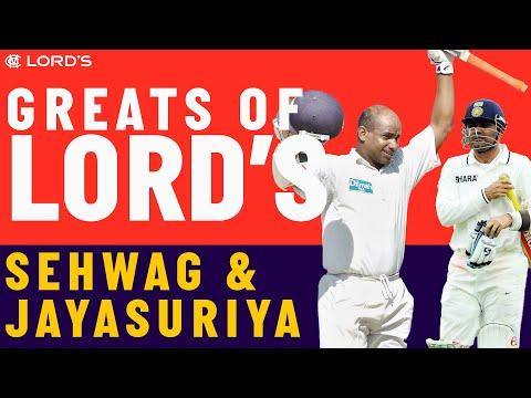 Virender Sehwag vs Sanath Jayasuriya | Who's The Greatest?
