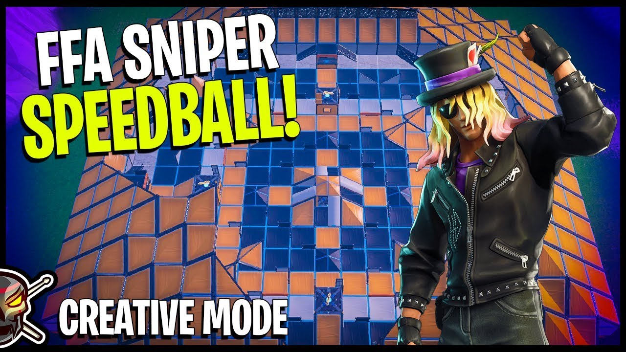 This Fortnite Creative Map Will END Friendships - FFA Sniper Course