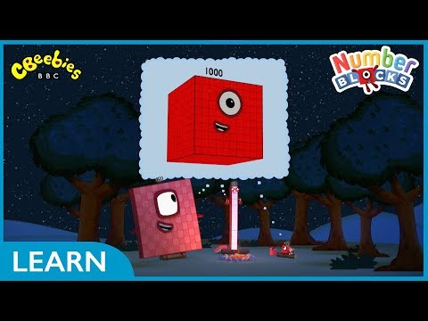 One Thousand And One | Numberblocks