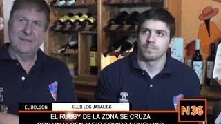 EL RUGBY DE LA ZONA SE CRUZA CON UN LEGENDARIO EQUIPO URUGUAYO