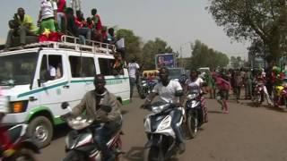 Gambar cover Arrivée des Etalons à Ouagadougou