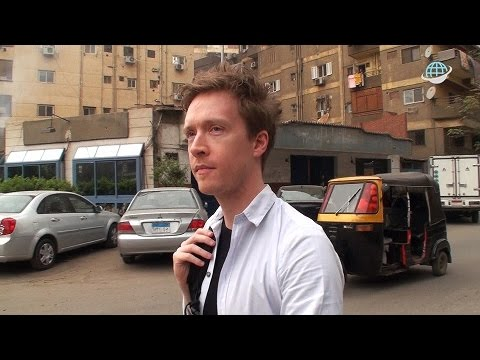 How to learn a foreign language anywhere: Olly Richards in Cairo