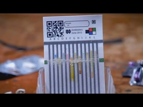 Paper - based device spots falsified or degraded medications (video)