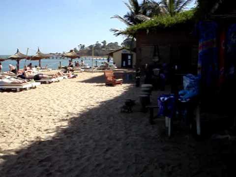 African Village hotel beach Gambia Bakau - YouTube  African Village...