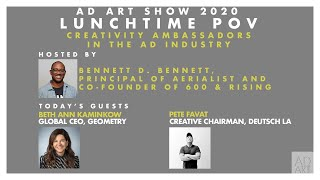 Lunchtime POV: Creativity Ambassadors in the AD Industry